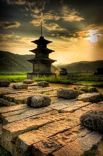 Pagoda de Hwangnyongsa, o Templo del Dragón Dorado
