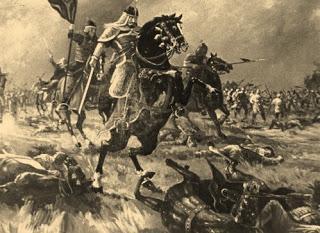 El general Kim Yushin, batallando para conseguir la unificación de la península coreana.