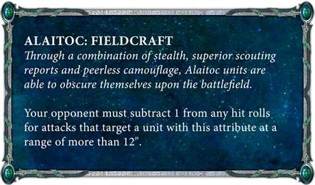 Resumen de Warhammer Community hoy: Tres grandes bloques y Alaitoc