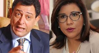 Leonel sale en defensa de su esposa Margarita.