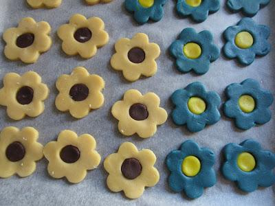 Galletas de mantequilla bicolor Thermomix
