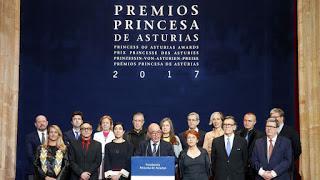 GANADORES PREMIOS PRINCESA DE ASTURIAS 2017