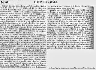 Dionisio Aguado durante su estancia en Fuenlabrada