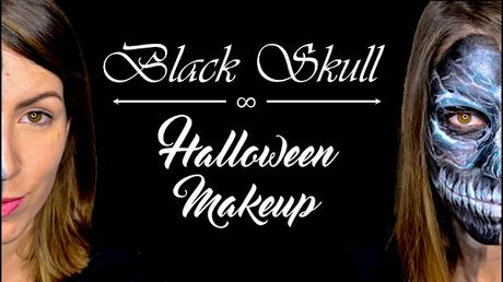 Halloween Makeup | Maquillaje Calavera negra (Black Skull)