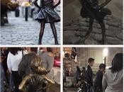 estatua niña miedo Wall Street.