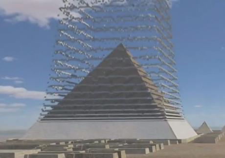 Un documental muestra cómo construir una pirámide con 'tecnología antigua'