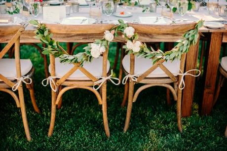 Cross Back Chair para Bodas y Eventos