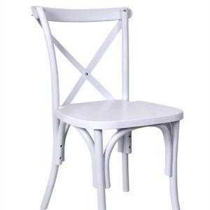 Cross Back Chair para Bodas y Eventos