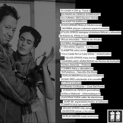 Varios Artistas. MUSICA PARA DOLORES. Recopilatorio de electrónica independiente y experimental.