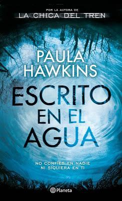ESCRITO EN EL AGUA: Un thriller escalofriante. Ideal para Halloween