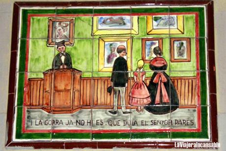 Paredes con vocación artística: Callejeando por Barcelona