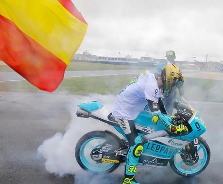 Y por fin llegó: Joan Mir Campeón del Mundo de Moto3