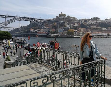 Total look denim en Oporto