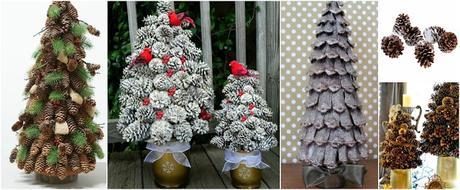Decoraci n navide a con pi as muy f cil de hacer paperblog - Decoracion navidena con pinas ...