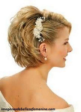 peinados para señoras mayores para una boda corto