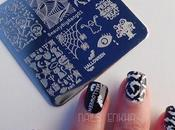 Nail Halloween Stamping Plate