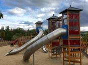 Parque público para niños Rozas