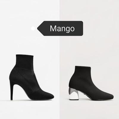 Tendencia: botines calcetín