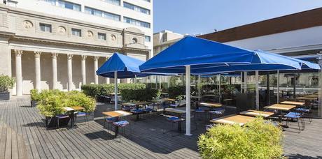 terraza restaurante nba barcelona