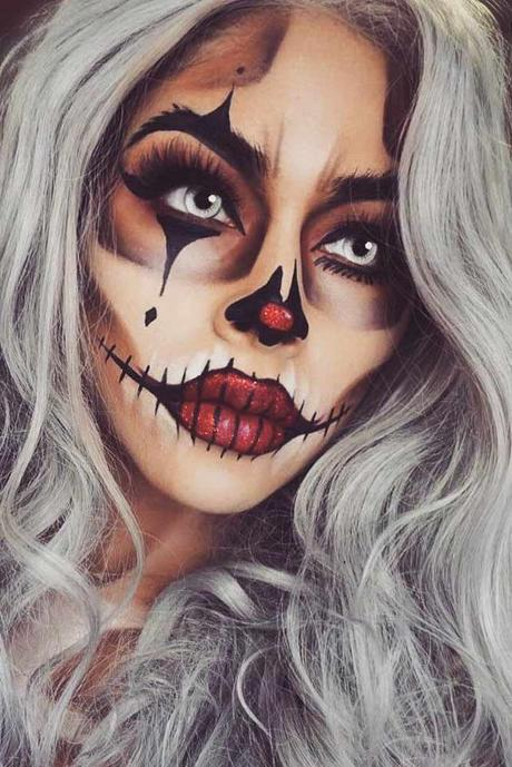 fabulous maquillajes para halloween with maquillajes de halloween - Maquillajes De Halloween