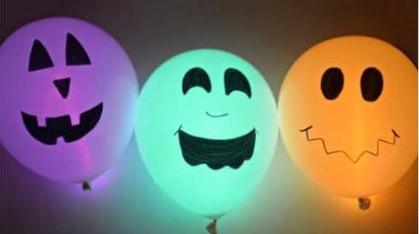 14 ideas para Decorar Halloween con Globos