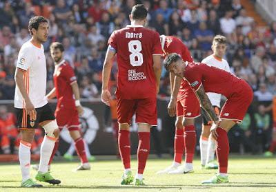 Precedentes ligueros del Sevilla FC ante el Valencia