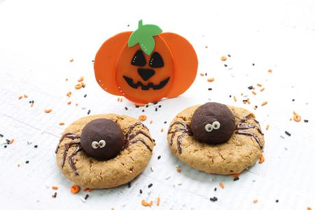 Galletas saludables para celebrar y divertirse en Halloween
