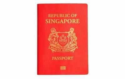 PASAPORTE DE SINGAPUR, EL MAS PODEROSO DEL MUNDO