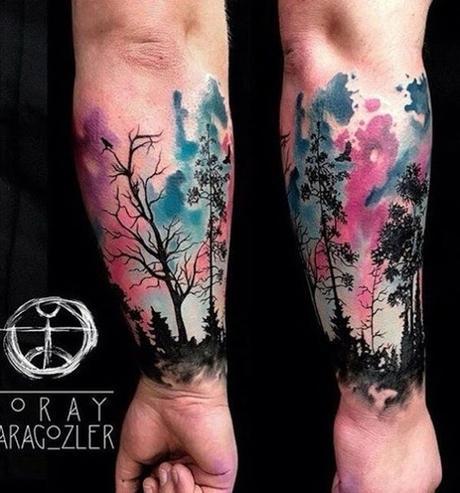 Los Mejores 20 Tatuajes Inspirados En Bosques Paperblog