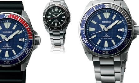relojes de buceo seiko prospex con katana abrecartas