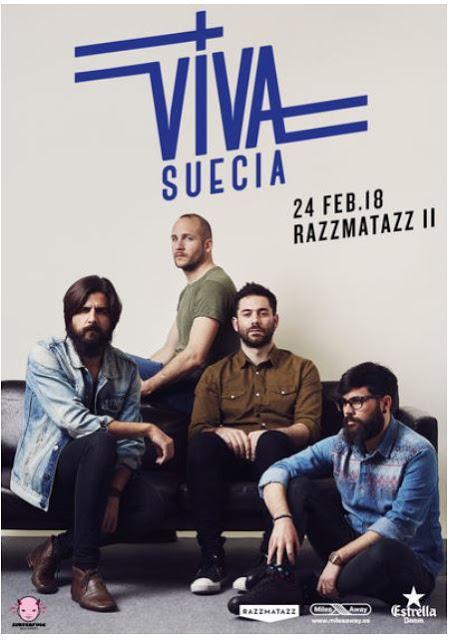 Viva Suecia nos visitará en Febrero 2018