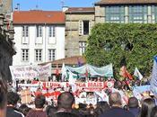 """""""Lumes Nunca Máis"""": manifestación politizada"""