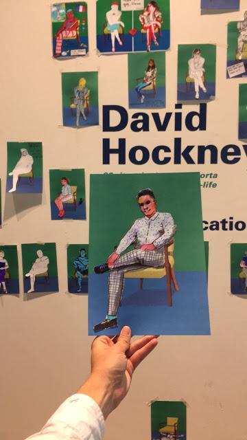 Hockney, 82 retratos y 1 naturaleza muerta
