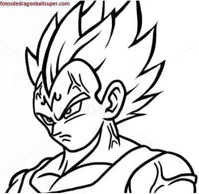Super Vegeta En Dibujos Faciles De Hacer De Dragon Ball Z Paperblog