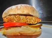 Receta Hamburguesa Casera Quinoa verduras cebolla caramelizada