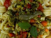 Espirales pasta vegetales