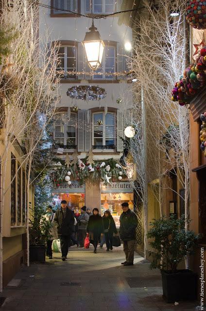 Estrasburgo Rue des Orfebres Alsacia
