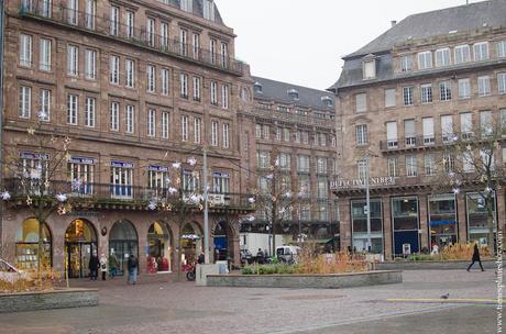 Estrasburgo Plaza Kléber Alsacia