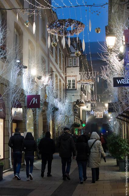 Estrasburgo Navidad Alsacia turismo