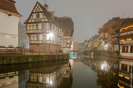 La Petite France Estrasburgo turismo noche