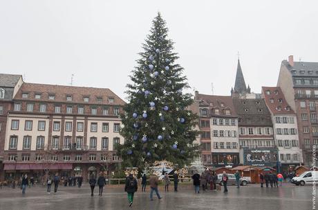 Arbol de Navidad Estrasburgo turismo Alsacia