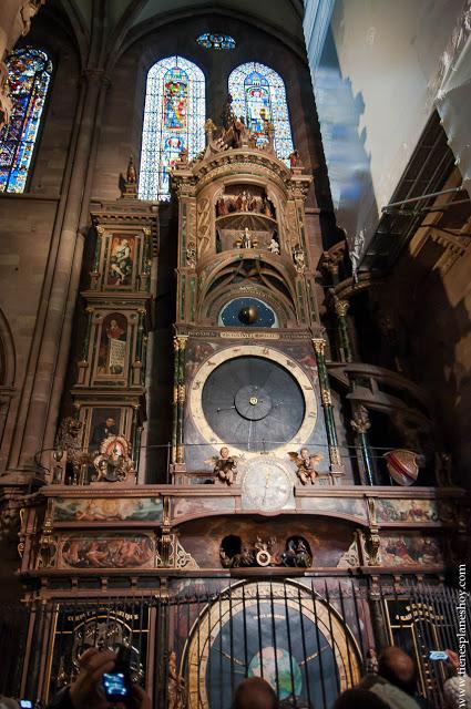 Reloj astronómico Estrasburgo
