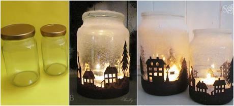 reciclaje-navidad-frascos-vidrio