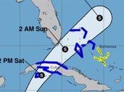 Emiten Alerta Tormenta Tropical para Occidente Cuba