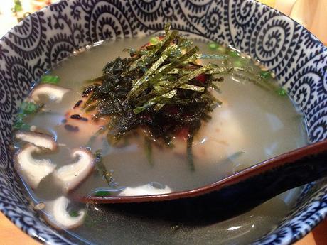 Ochazuke, sopa japonesa de té verde