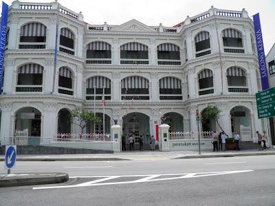 EL MUSEO PERANAKAN DE SINGAPUR