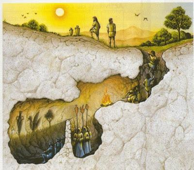 El mito de la caverna de Platón
