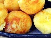 Bolas yuca rellenas queso