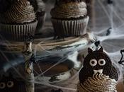 Cupcakes Oreo para Halloween
