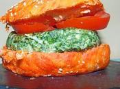 Receta Casera Hamburguesa pavo espinaca (Especial Halloween Primera Parte)